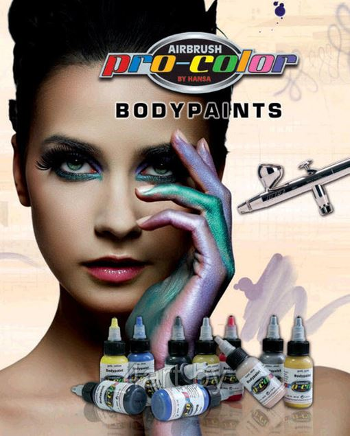 Краска для Бодиарта Hansa Pro-Color BodiPaint