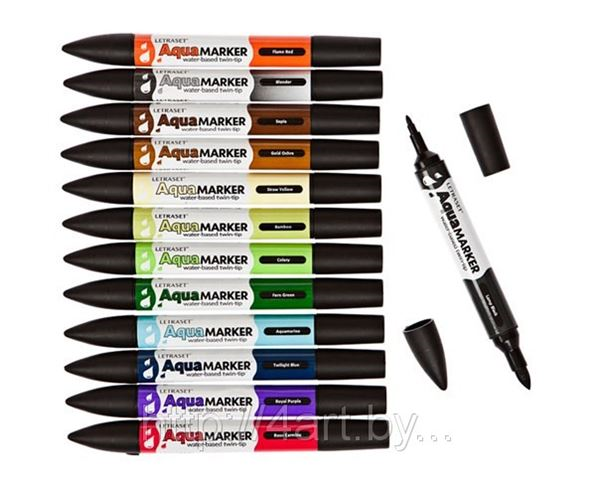 Letraset - профессиональные маркеры для художников и дизайнеров, в продаже.