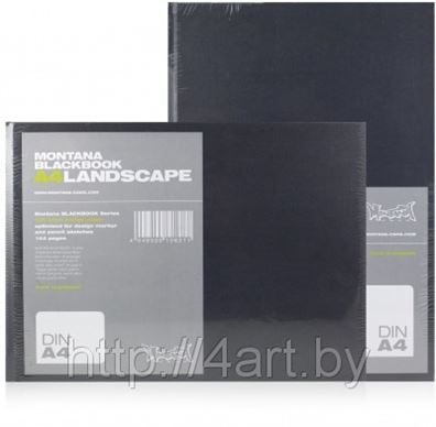 Снова в продаже скетчбуки MONTANA Landskape и Portrait!