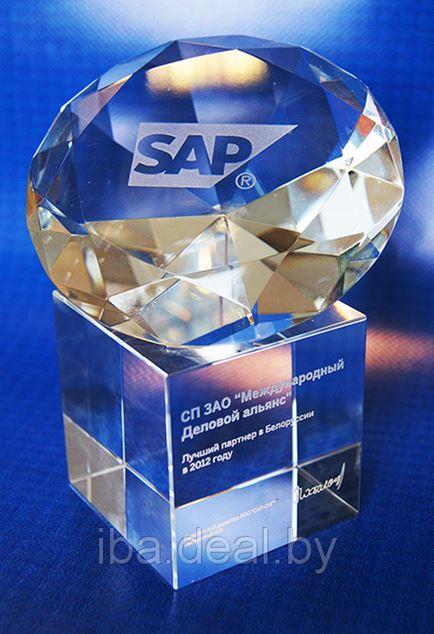 IBA Group – лучший бизнес-партнер SAP по итогам 2012 года. Учебный центр IBA – лучший учебный центр SAP в странах СНГ
