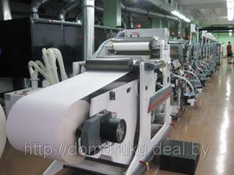 Упаковка из картона — печать и отделка за один прогон на новой флексографской печатно-отделочной линии