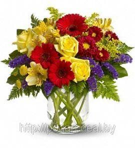 Цветы любимым клиентам