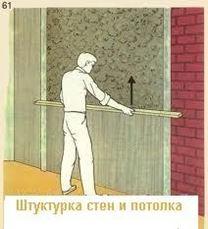 Штукатурка стен и потолков - это просто!!!
