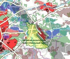Генплан Китайско-белорусского индустриального парка представили на обсуждение