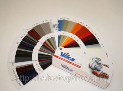 Новые цвета автоэмалей Vika Металлик