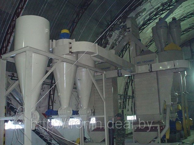 Производство линии гранулирования древесных отходов