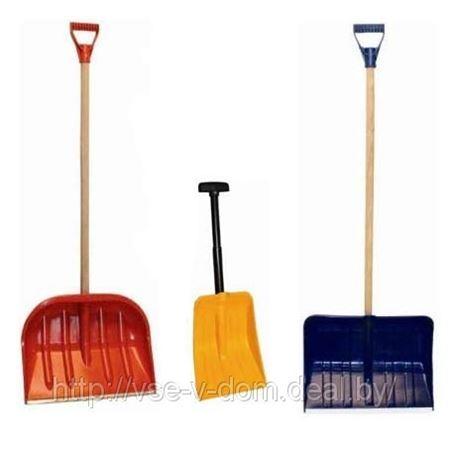 Лопаты для снега — большой выбор!