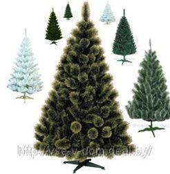 Искусственные елки и сосны