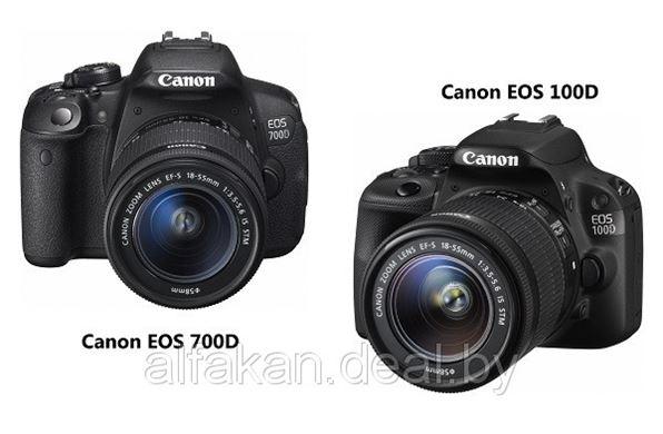 Новые модели зеркальных фотоаппаратов Canon