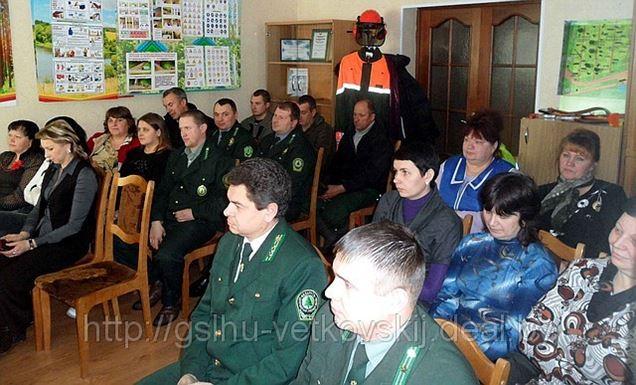 Встреча с информационной группой районного исполнительного комитета.