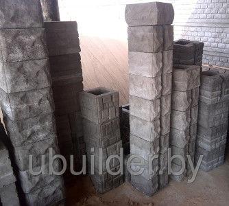 блоки для столба забора