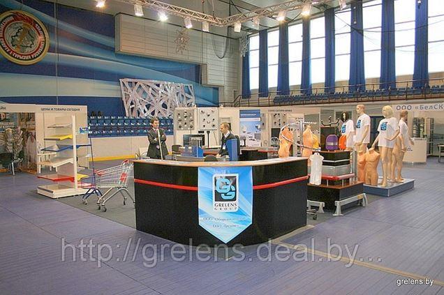 ОДО 'Греленс' на выставке Консумаркет во Дворце спорта, проходившей 25-28 сентября 2012 года.