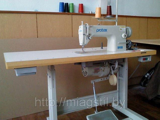 Приобретена новая двухигольная швейная машина!