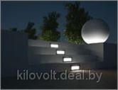 Подсветка фасада, лестниц и ступеней на улице и в доме.