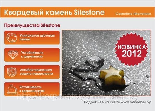 Новинка! Кварцевый камень Silestone - лидер на рынке кварцевых поверхностей