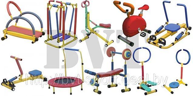 Тренажеры для детей 3-8 лет Moove&Fun