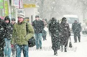 На Беларусь идет еще один снежный циклон