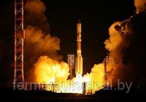 Российская ракета упала на Байконуре на первой минуте старта