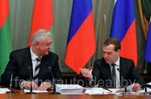 О чем спорили Мясникович и Медведев