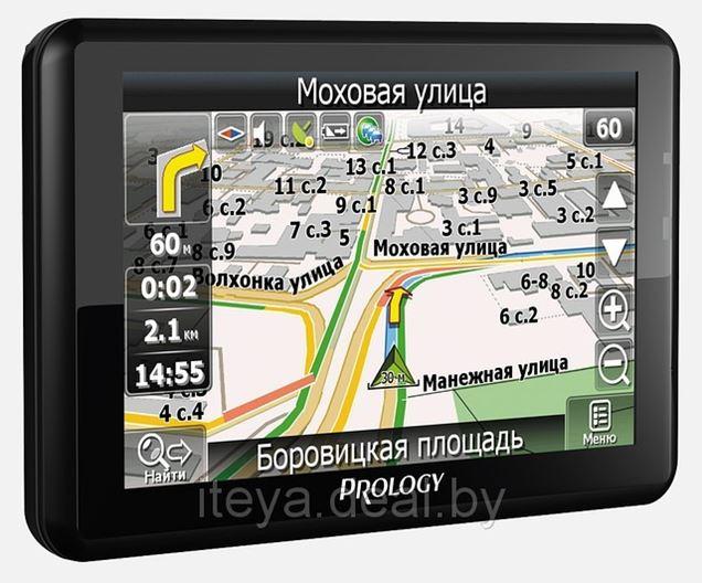 Новинка! Портативная навигационная система PROLOGY iMap-514AB+