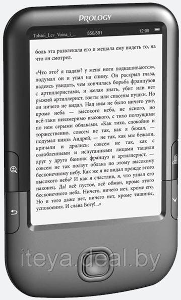 Электронная книга Prology Latitude I-604 - безопасное чтение.