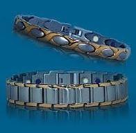 Позолченые браслеты с ионами серебра