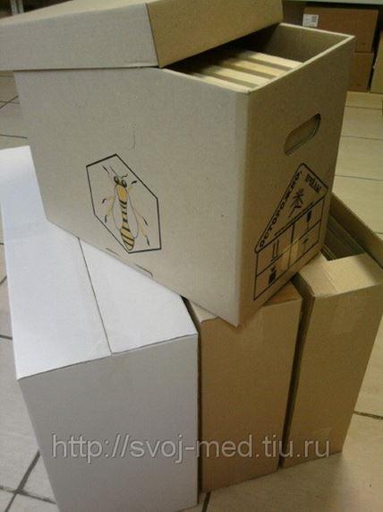 Белорусский гофроящик для пчелопакетов