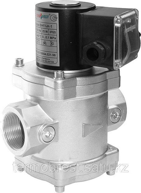 """Вниманию потребителей продукции СП """"ТермоБрест""""! Начато серийное производство электромагнитных газовых клапанов с присоединительным размером DN32 в алюминиевом корпусе муфтового исполнения."""