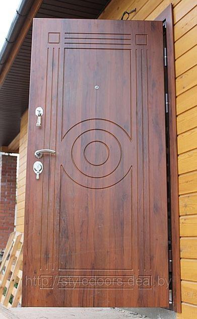 Дверь с влагостойкой накладкой МДФ